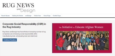 CSR in Rug Industry